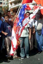 Burning the American Flag in Brazil