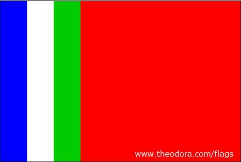 South Molucan Flag