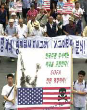 Protest in Korea