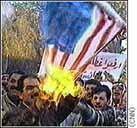 Burning U.S. flag video