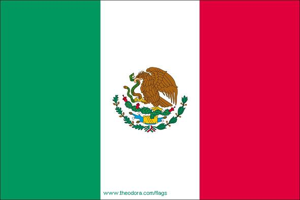 Flags Of Mexico Geography Mexican Flags Mexico Map Mexico