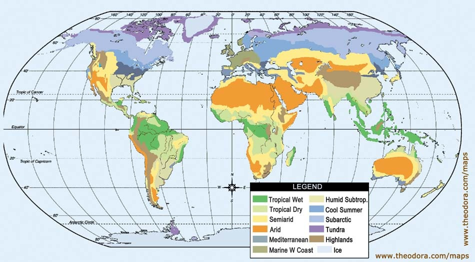 World Climate Maps   Maps, Economy, Geography, Climate, Natural