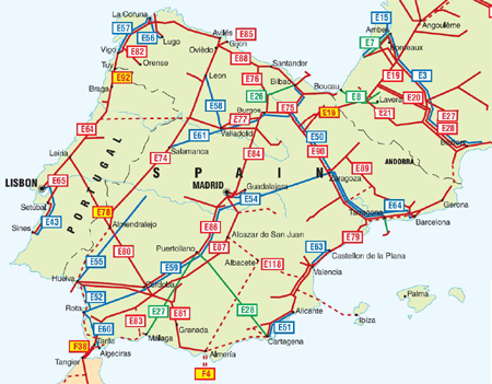 Map Of Spain Oviedo.Spain And Portugal Pipelines Map Crude Oil Petroleum Pipelines