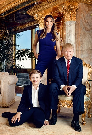 3113682403 The Trump family at home in New York