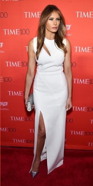 071cd3baecf Melania Trump attends 2016 Time 100 Gala