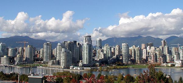 Vancouver Winter Skyline