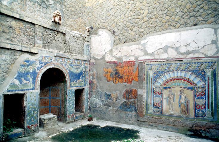 Ercolano, Roman House, Campania
