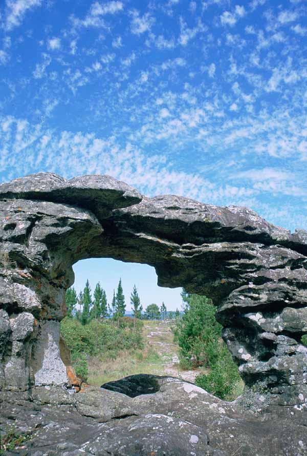 The Window A Rock Formation Near Graskop Mpumalanga