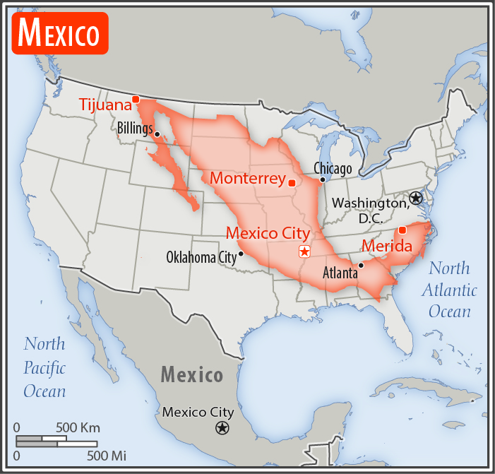 size of mexico