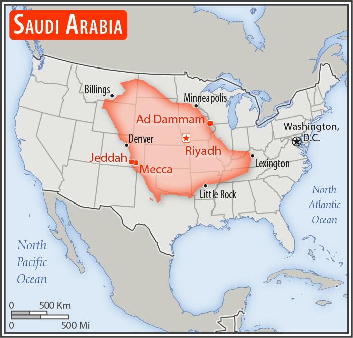 Saudi Arabia Geography 2017 Cia World Factbook